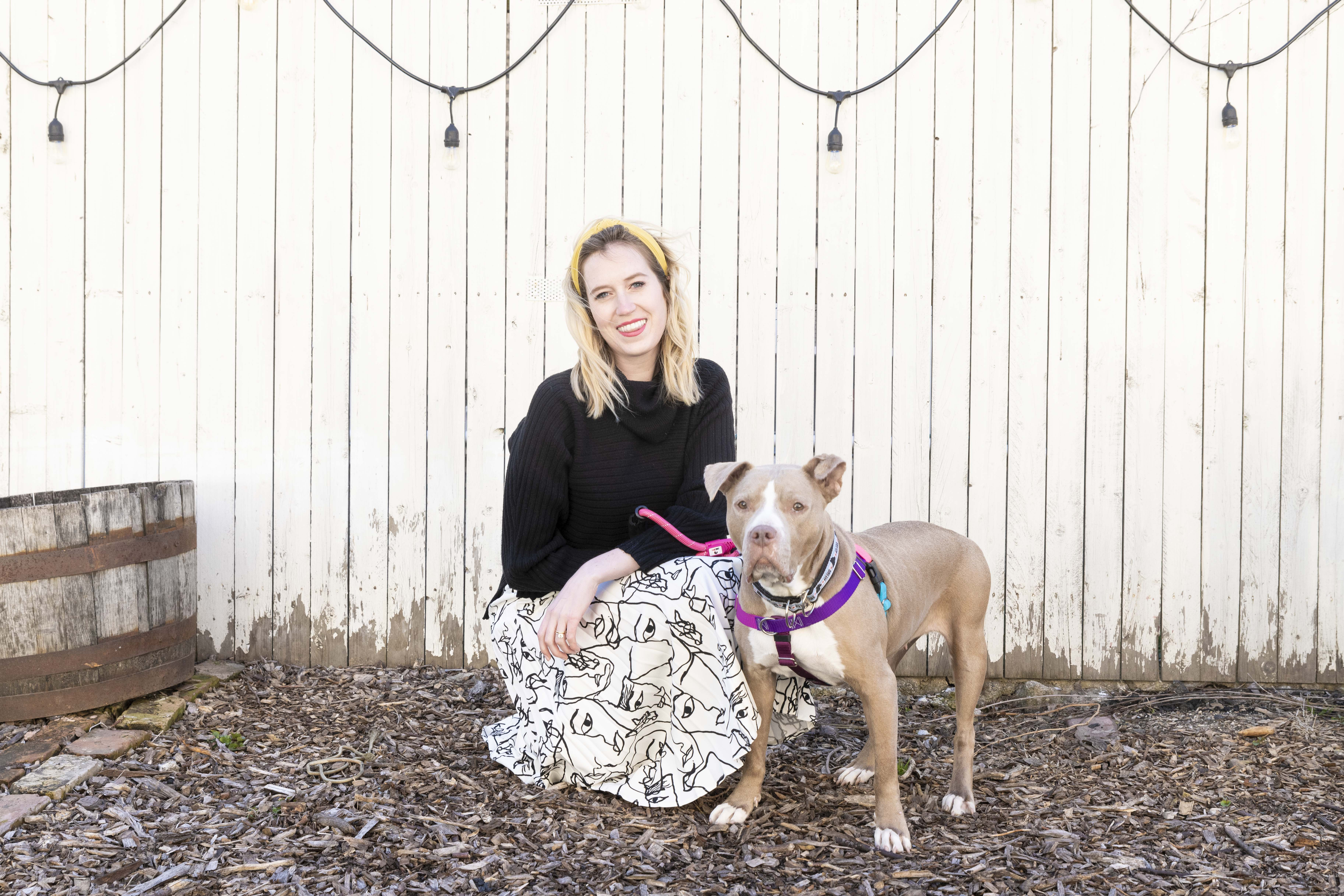 Chi Town Pitties helping our city dogs with intention